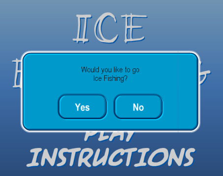 Ice Fishi- i mean Crashing