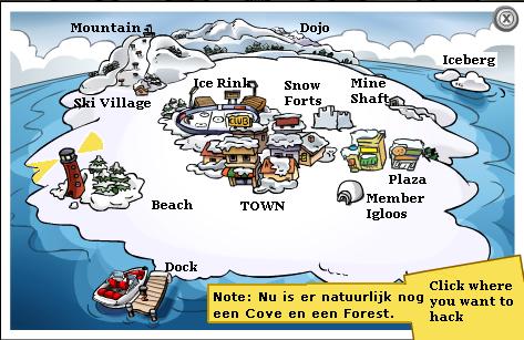 Funny Pic Map (hij klopt wel hoor)