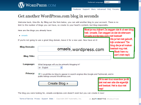 Wordpress is wrong