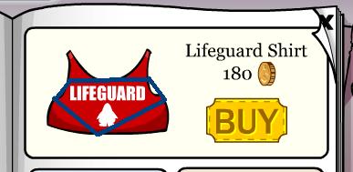 Lifeguard Shirt = SwimGoggles